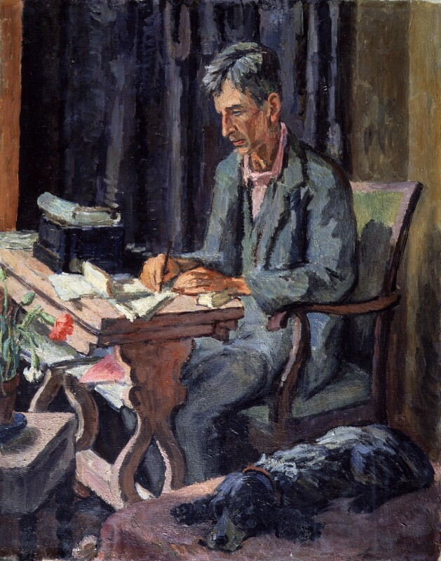 Leonard Sidney Woolf, by Vanessa Bell (née Stephen), 1940 - NPG 4695 - © National Portrait Gallery, London