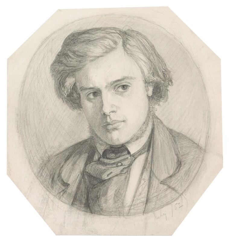 Thomas Woolner, by Dante Gabriel Rossetti, 1852 - NPG 3848 - © National Portrait Gallery, London