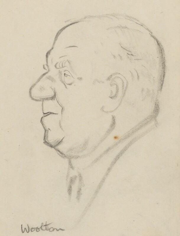 Frederick James Marquis, 1st Earl of Woolton, by Sir David Low, circa 1950s-1963 - NPG 4529(397) - © Solo Syndication Ltd