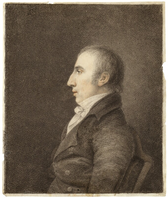 William Wordsworth, by Robert Hancock, 1798 -NPG 450 - © National Portrait Gallery, London