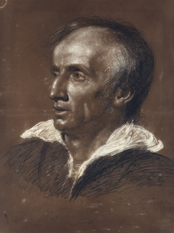 William Wordsworth, by Benjamin Robert Haydon, 1818 - NPG 3687 - © National Portrait Gallery, London