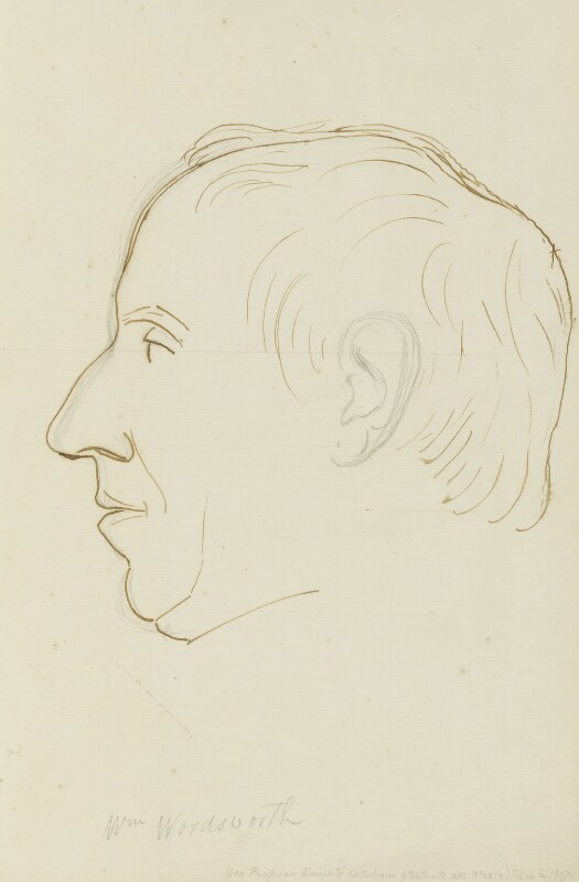 William Wordsworth, by Sir Francis Leggatt Chantrey, 1820 - NPG 316a(146) - © National Portrait Gallery, London