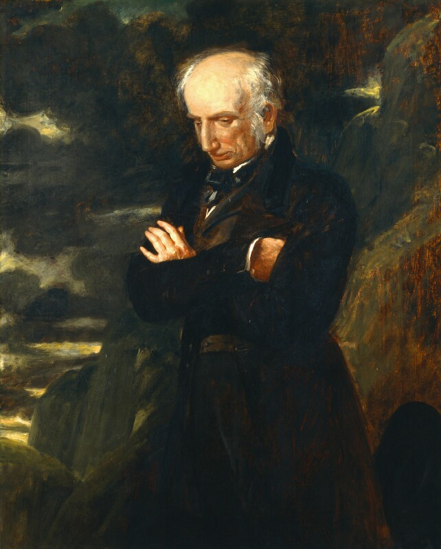 Wiiliam Wordsworth, by Benjamin Robert Haydon, 1842 - NPG 1857 - © National Portrait Gallery, London