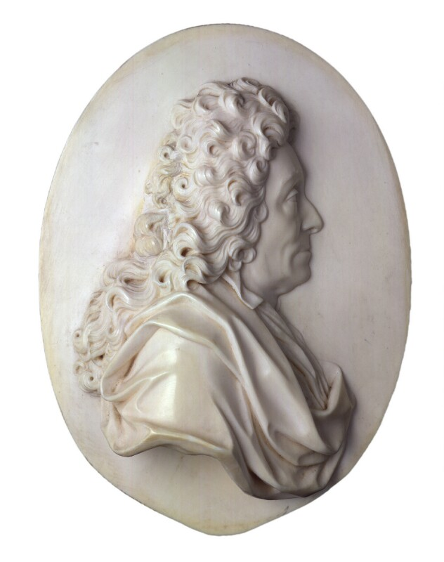 Sir Christopher Wren, by David Le Marchand, circa 1720 - NPG 4500 - © National Portrait Gallery, London