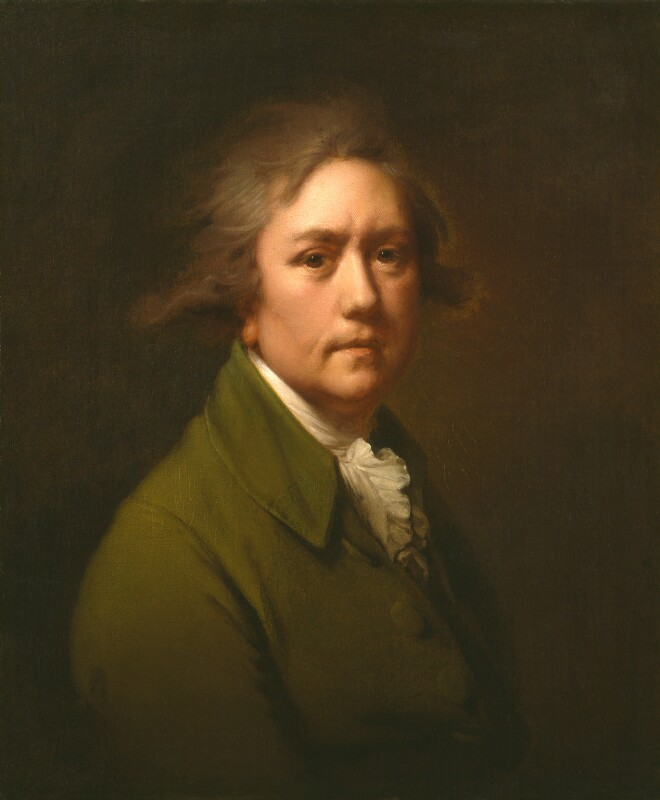 Joseph Wright, by Joseph Wright, circa 1782-1785 - NPG 4090 - © National Portrait Gallery, London