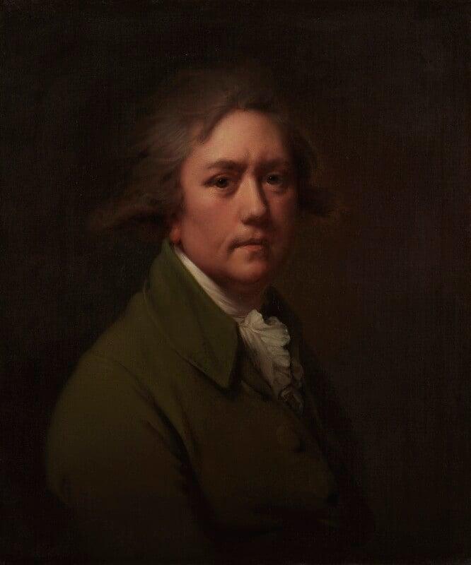 Joseph Wright, by Joseph Wright, circa 1782-1785 - NPG 4090 - © National Portrait Gallery, London