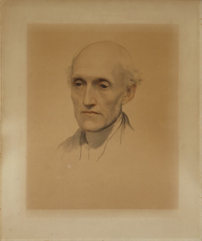 Thomas Wright, by George Frederic Watts, circa 1850-1851 - NPG 1016 - © National Portrait Gallery, London