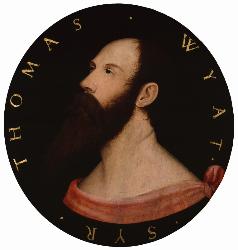 Sir Thomas Wyatt, after Hans Holbein the Younger, mid 16th century, based on a work of circa 1540 - NPG 1035 - © National Portrait Gallery, London