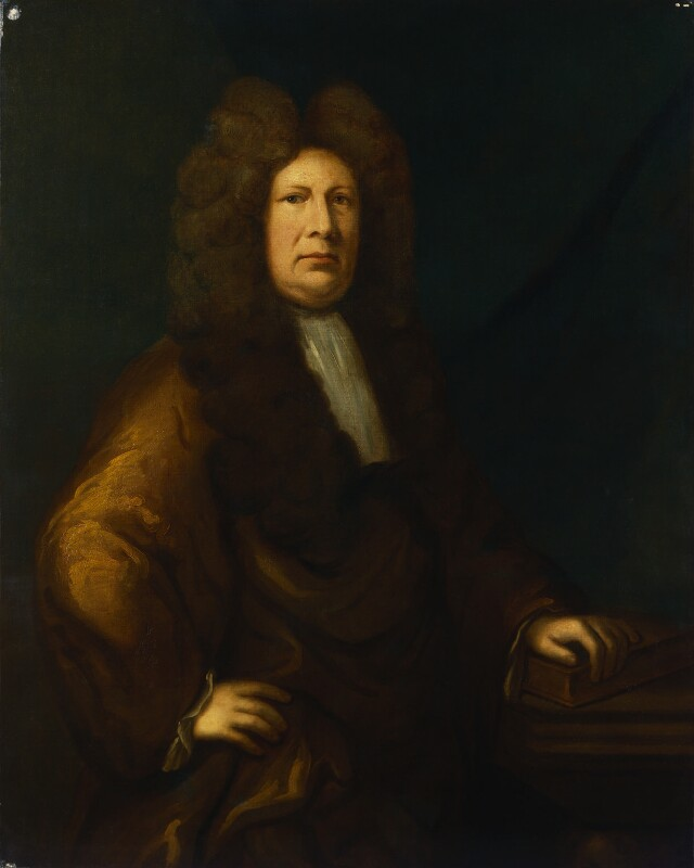 Sir Cyril Wyche, by Unknown artist, based on a work of circa 1693 - NPG 1422 - © National Portrait Gallery, London