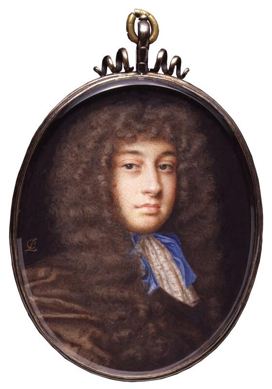 William Wycherley, by Peter Cross, circa 1675 - NPG 6280 - © National Portrait Gallery, London