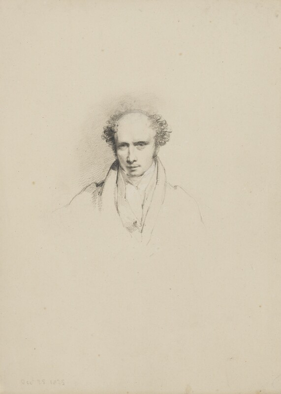 William Wyon, by William Brockedon, 1825 - NPG 2515(8) - © National Portrait Gallery, London