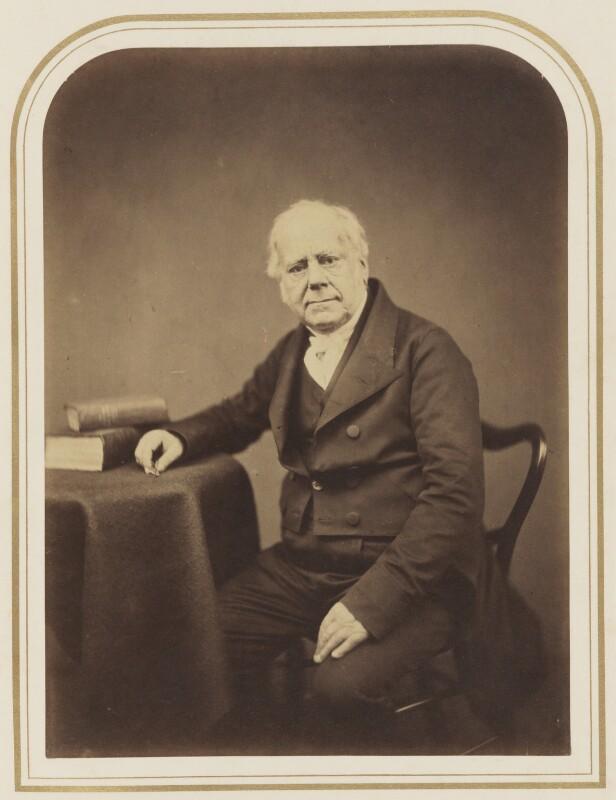 William Yarrell, by Maull & Polyblank, 1855 - NPG P120(27) - © National Portrait Gallery, London