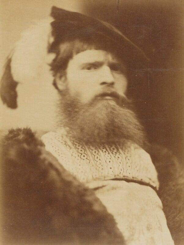 William Frederick Yeames, by David Wilkie Wynfield, 1863 -NPG P88 - © National Portrait Gallery, London