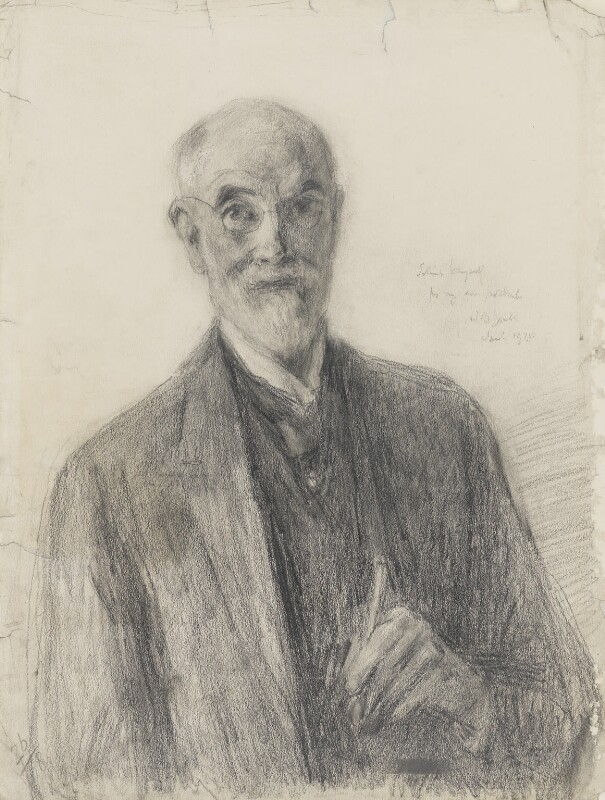 John Butler Yeats, by John Butler Yeats, 1920 - NPG 4104 - © National Portrait Gallery, London