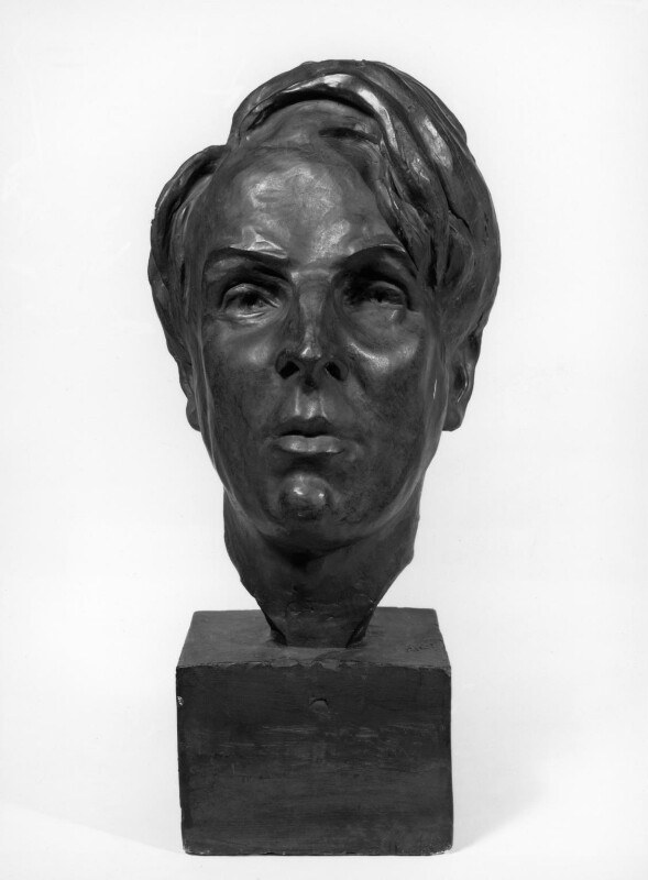 W.B. Yeats, by (Edith Agnes) Kathleen Scott (née Bruce), Lady Scott (later Lady Kennet), 1955, based on a work of 1907 - NPG 3644a - Photograph © National Portrait Gallery, London