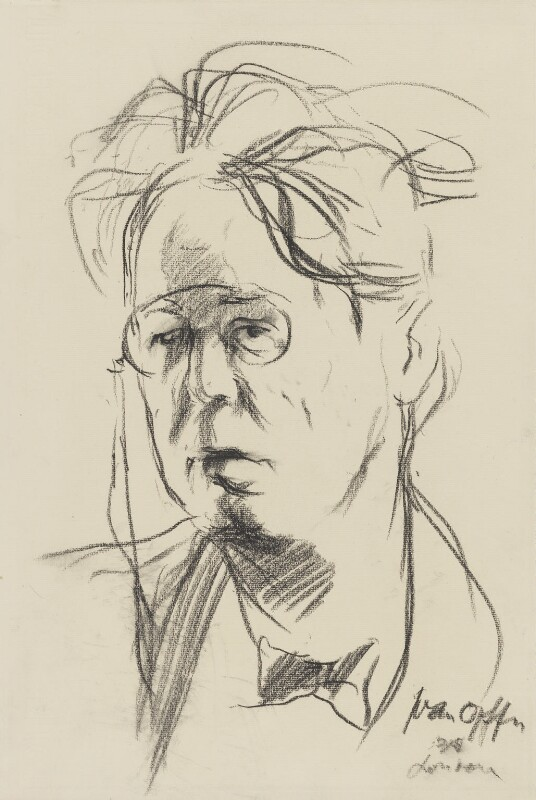 W.B. Yeats, by Ivan Opffer, 1935? - NPG 3965 - © reserved; collection National Portrait Gallery, London