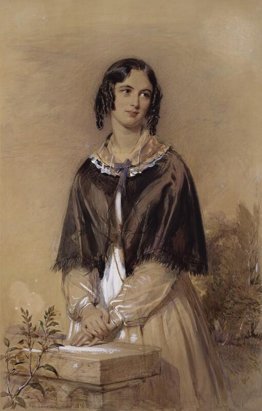 Charlotte Mary Yonge, by George Richmond, 1844 - NPG 2193 - © National Portrait Gallery, London
