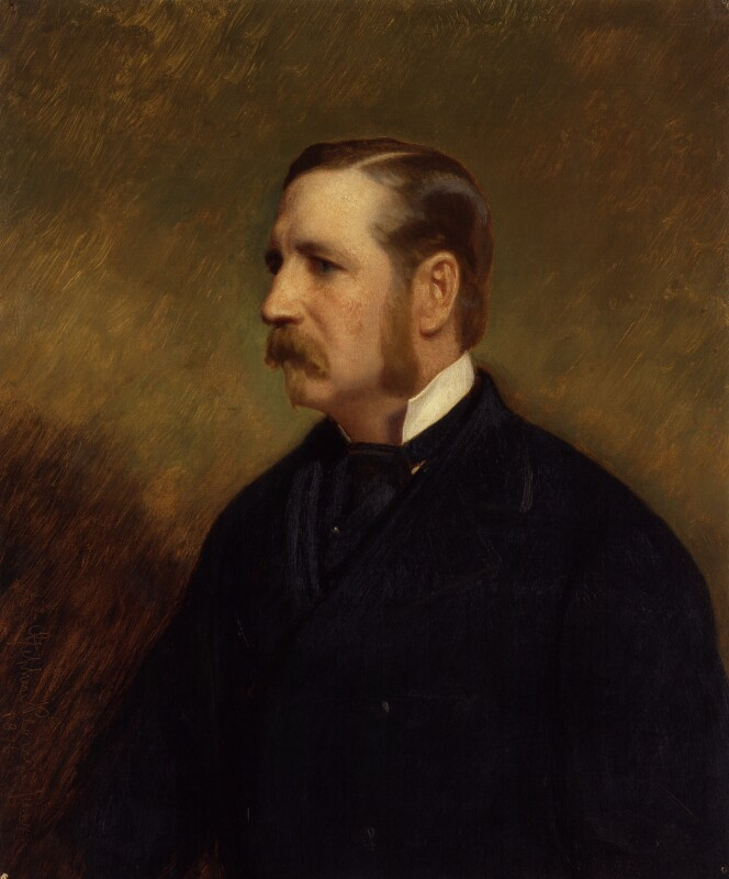 Sir Allen William Young, by Stephen Pearce, 1876 -NPG 920 - © National Portrait Gallery, London