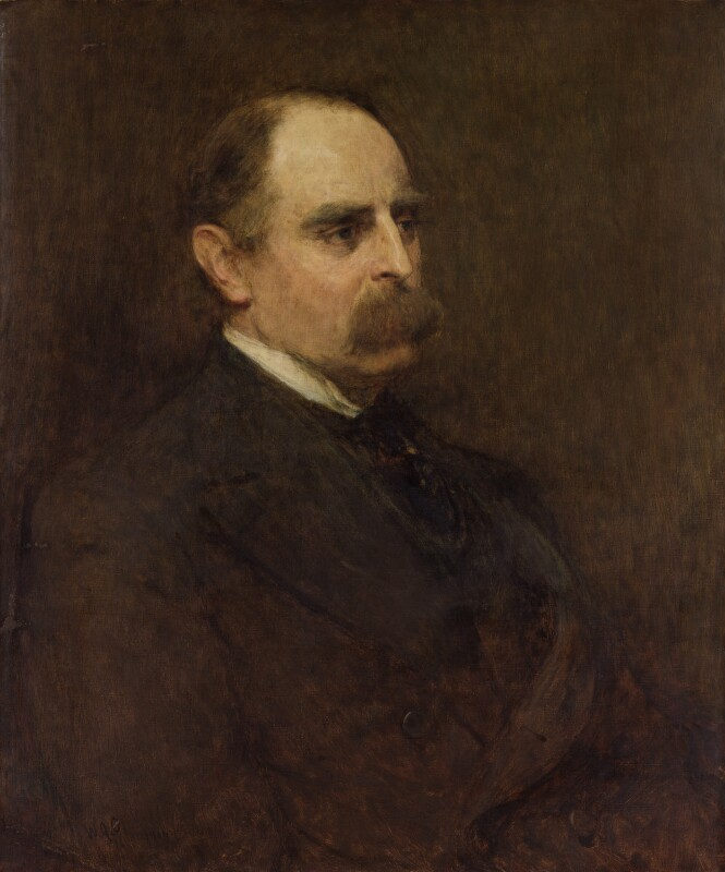 Sir Francis Edward Younghusband, by Sir William Quiller Orchardson, 1906 - NPG 3184 - © National Portrait Gallery, London