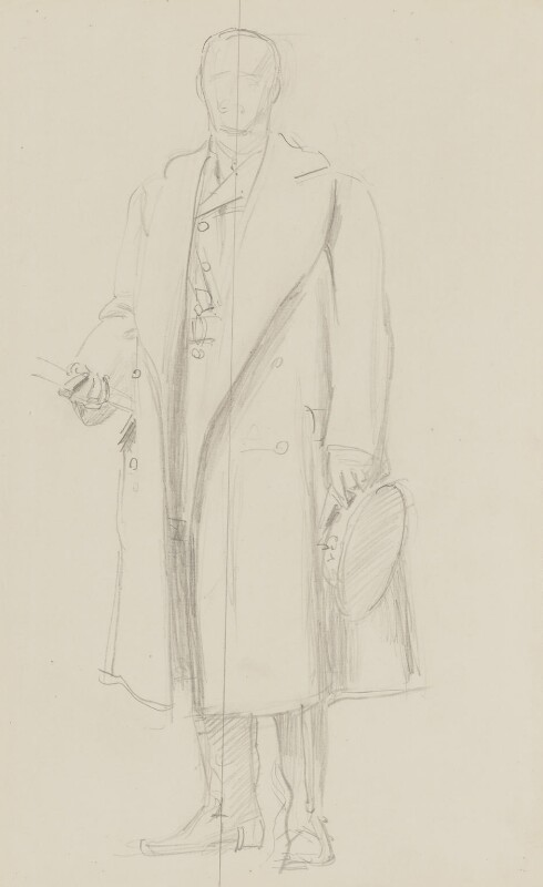 John Denton Pinkstone French, 1st Earl of Ypres, by John Singer Sargent, circa 1922 - NPG 2908(11) - © National Portrait Gallery, London