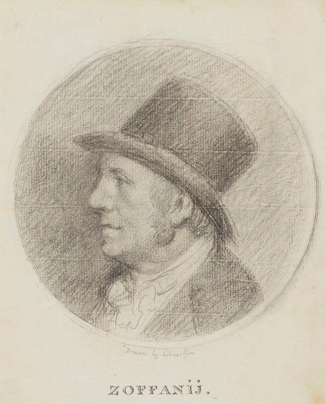 Johan Joseph Zoffany, by Johan Joseph Zoffany, circa 1795 -NPG 2536 - © National Portrait Gallery, London