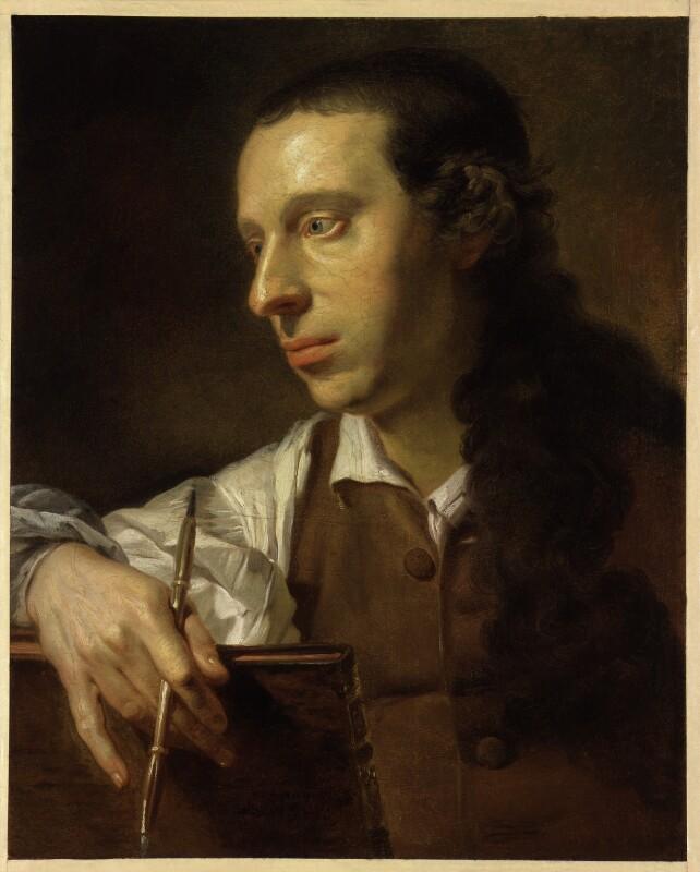 Probably Johan Joseph Zoffany, by Johan Joseph Zoffany, 1761 - NPG 399 - © National Portrait Gallery, London