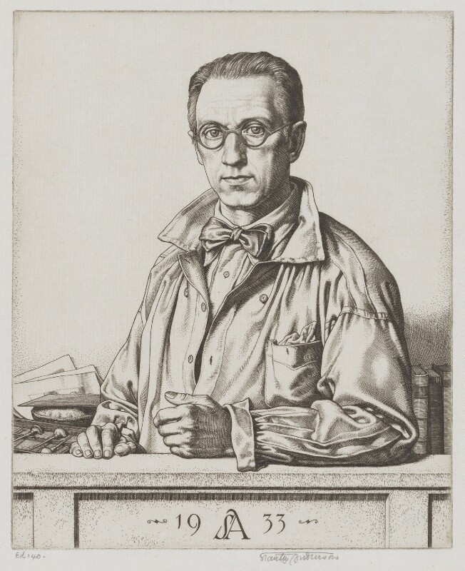 (Alfred Charles) Stanley Anderson, by (Alfred Charles) Stanley Anderson, 1933 - NPG 6057 - © National Portrait Gallery, London