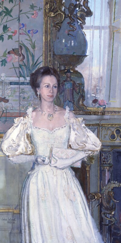 Princess Anne, by John Stanton Ward, 1987-1988 - NPG 5992 - © National Portrait Gallery, London