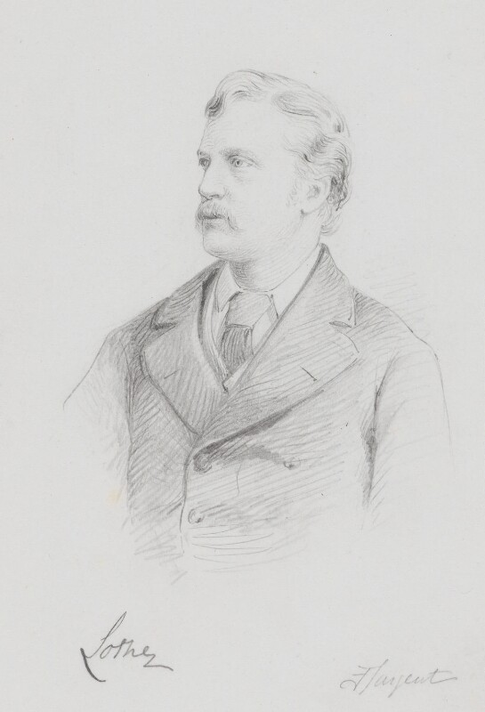 John Campbell, 9th Duke of Argyll, by Frederick Sargent, 1880s or 1890s? - NPG 5612 - © National Portrait Gallery, London