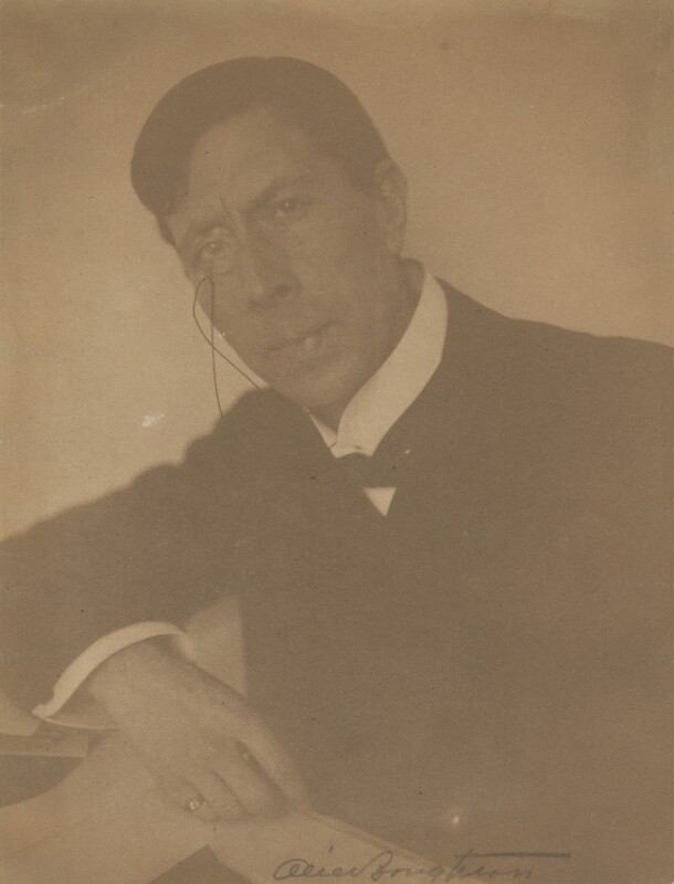 George Arliss, by Alice Boughton, exhibited 1911 - NPG P184 - © National Portrait Gallery, London