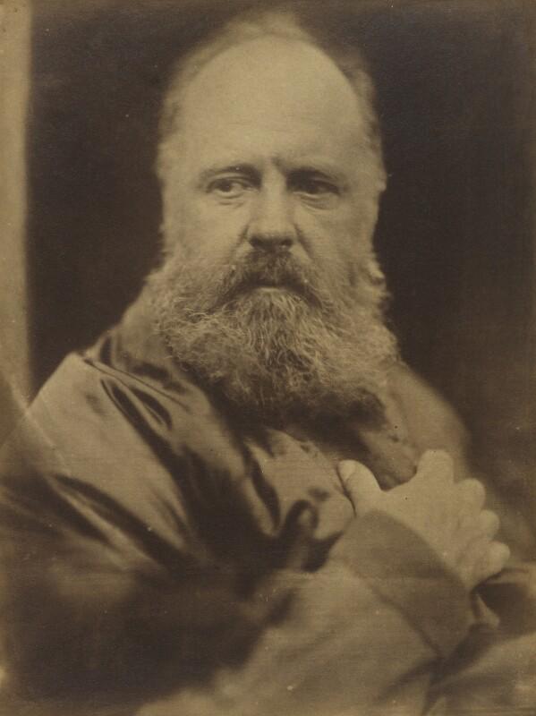 Edward Armitage, by David Wilkie Wynfield, circa 1864 -NPG P225 - © National Portrait Gallery, London