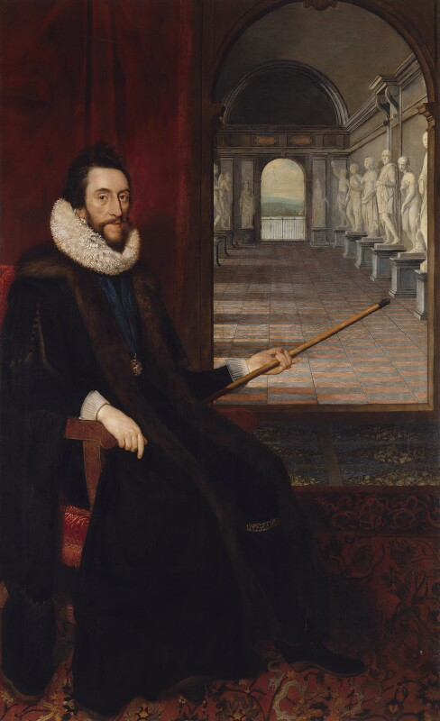 Thomas Howard, 14th Earl of Arundel, by Daniel Mytens, circa 1618 - NPG 5292 - © National Portrait Gallery, London