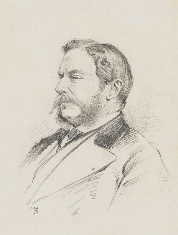 William Morton Eden, 5th Baron Auckland, by Frederick Sargent, 1890s? - NPG 5619 - © National Portrait Gallery, London