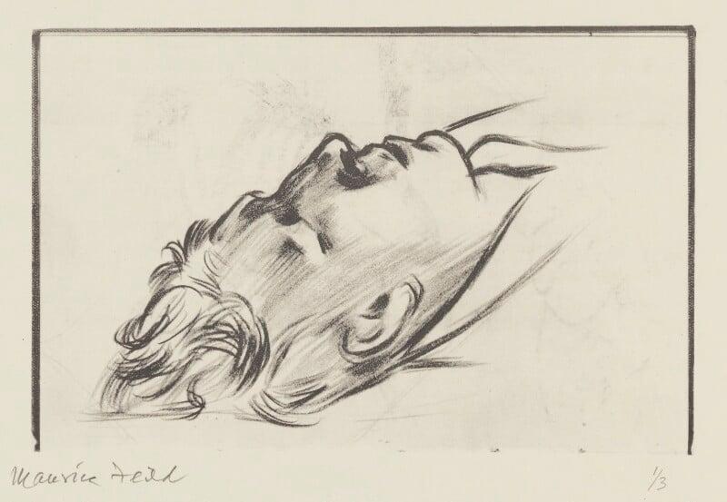 W.H. Auden, copy by Edward Maurice Feild, 1982, based on a work of 1935 - NPG 5544 - © National Portrait Gallery, London