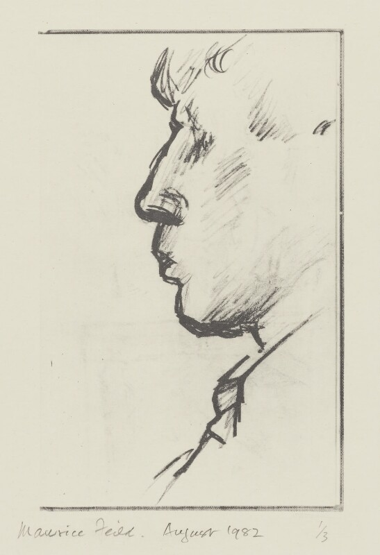 W.H. Auden, copy by Edward Maurice Feild, 1982, based on a work of 1935 - NPG 5543 - © National Portrait Gallery, London