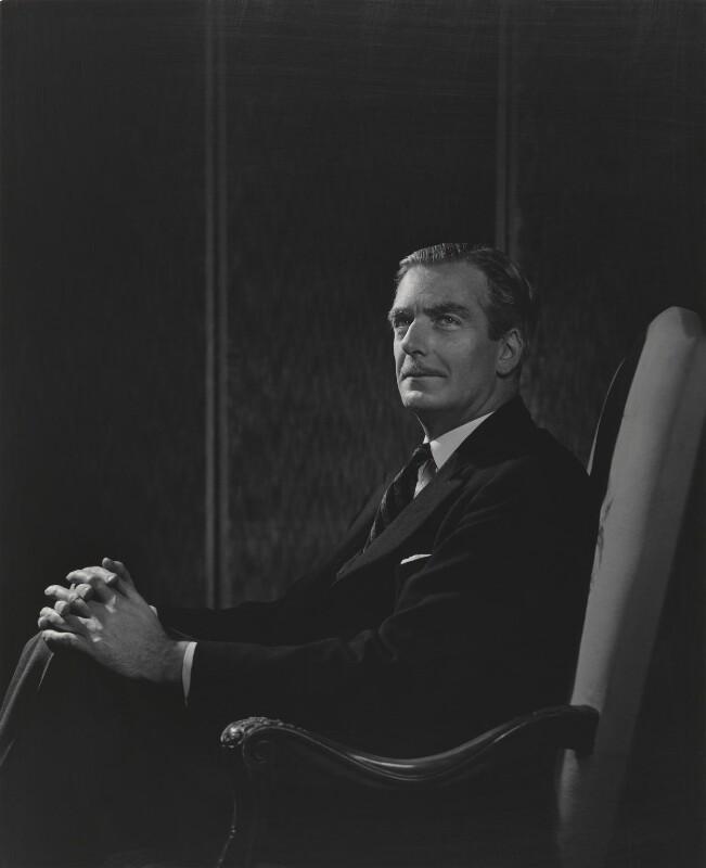 Anthony Eden, 1st Earl of Avon, by Yousuf Karsh, 1945 - NPG P246 - © Karsh / Camera Press