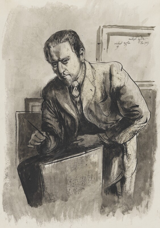 Michael Ayrton, by Michael Ayrton, 1947 - NPG 5537 - © estate of Michael Ayrton / National Portrait Gallery, London