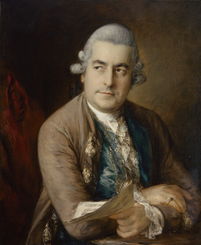 Johann Christian Bach, by Thomas Gainsborough, circa 1776 - NPG 5557 - © National Portrait Gallery, London