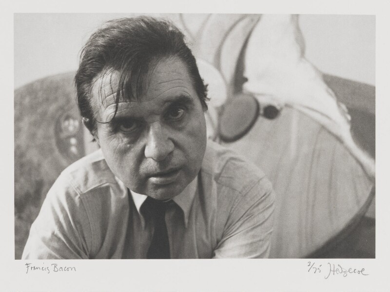 Francis Bacon, by John Hedgecoe, 1970 - NPG P158 - © John Hedgecoe / Topfoto