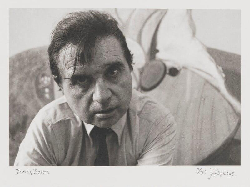 Francis Bacon, by John Hedgecoe, 1970 - NPG P158 - © John Hedgecoe / Topfoto