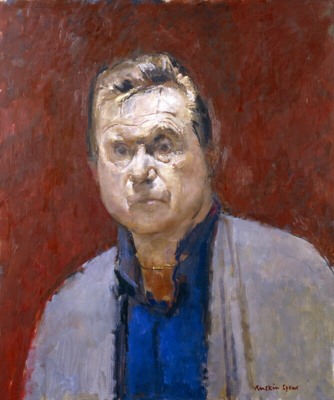 Francis Bacon, by Ruskin Spear, 1984 - NPG 5818 - © National Portrait Gallery, London