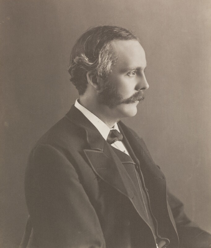 Arthur James Balfour, 1st Earl of Balfour, by Eveleen Myers (née Tennant), circa 1890 - NPG P144 - © National Portrait Gallery, London