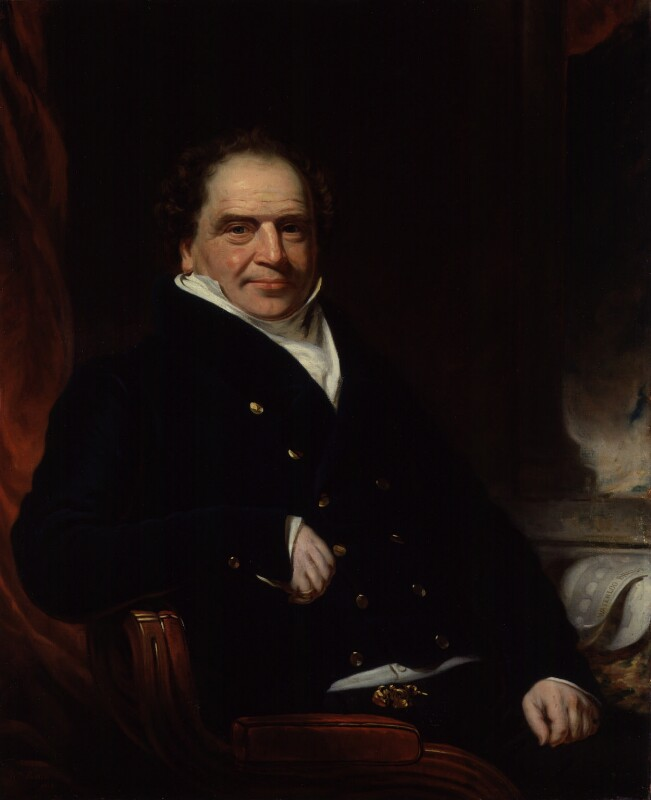 Sir Edward Banks, by William Patten, 1835 - NPG 5504 - © National Portrait Gallery, London