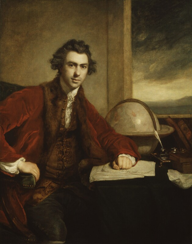Sir Joseph Banks, Bt, by Sir Joshua Reynolds, 1771-1773 -NPG 5868 - © National Portrait Gallery, London