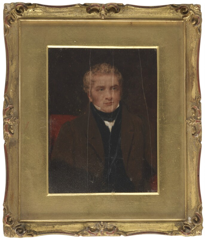 Thomas Barnes, by Sir William John Newton, 1832 - NPG 6064 - © National Portrait Gallery, London