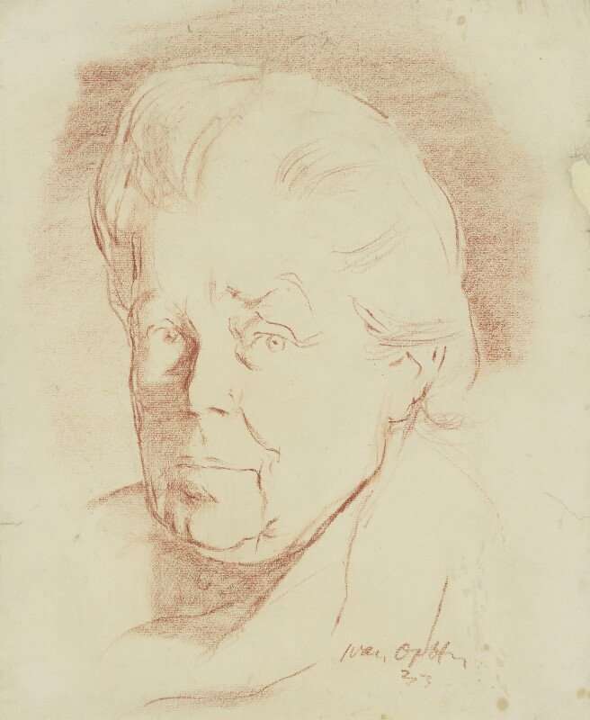 Dame Henrietta Octavia Weston Barnett, by Ivan Opffer, 1933 - NPG 5437 - © National Portrait Gallery, London