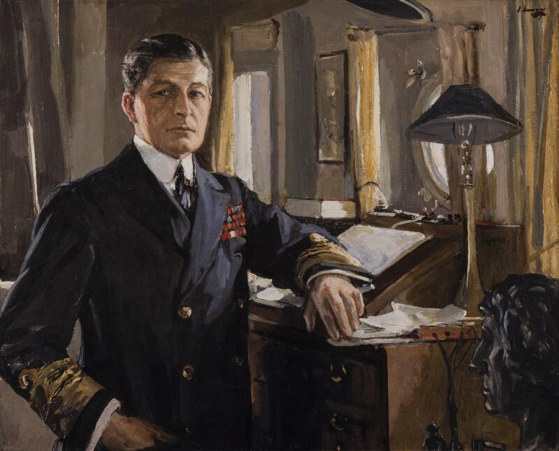 David Richard Beatty, 1st Earl Beatty, by Sir John Lavery, 1917 - NPG 5581 - © National Portrait Gallery, London