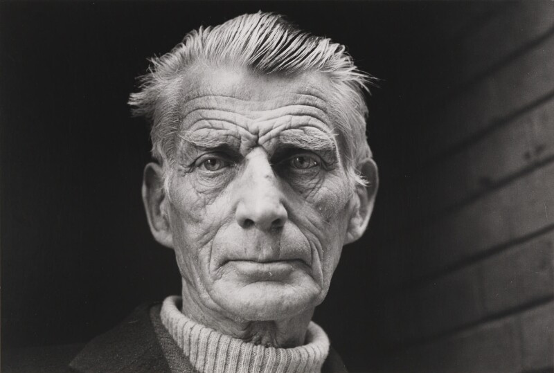 Samuel Beckett, by Jane Bown, 1976 - NPG P373 - © Jane Bown