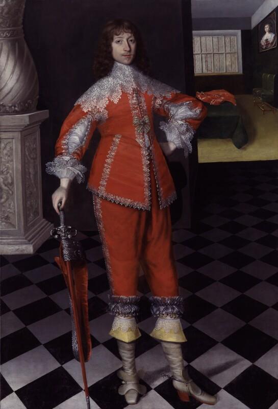 John Belasyse (Bellasis), 1st Baron Belasyse of Worlaby, by Gilbert Jackson, 1636 - NPG 5948 - © National Portrait Gallery, London