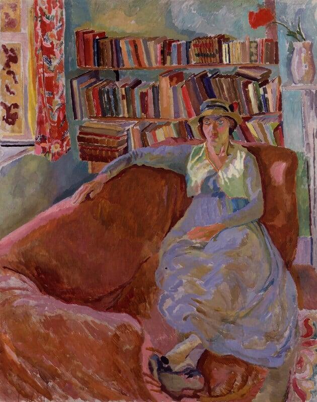Vanessa Bell, by Duncan Grant, 1917 - NPG 5541 - © DACS 2018